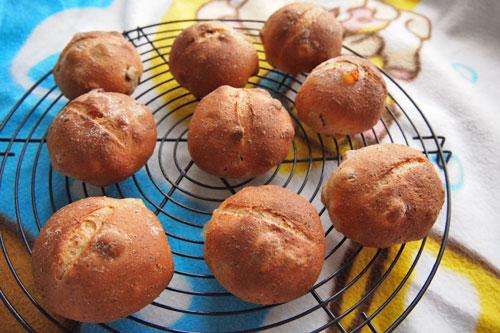 大豆粉入りプチパン
